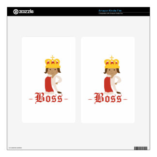 Boss Decals For Kindle Fire