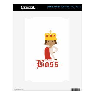 Boss NOOK Decal