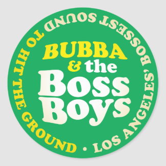 Boss Sounds Boss Boys Sticker