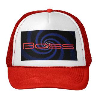 Boss Spiral Trucker Hat