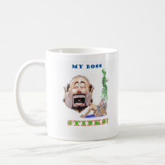 Boss Stinks cup