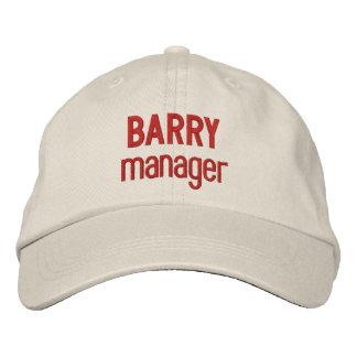 BOSS Synonym MANAGER Custom Name V14H Embroidered Baseball Cap