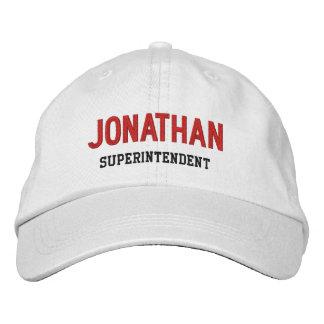 BOSS Synonym SUPERINTENDENT Custom Name V14K Cap
