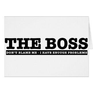 Boss Tarjeta