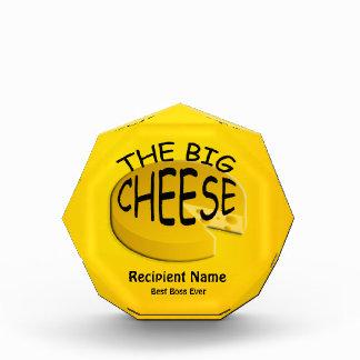 Boss The Big Cheese Funny Custom Award