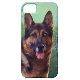 Boss the German Shepherd iPhone SE/5/5s Case