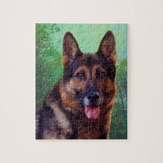 Boss the German Shepherd Jigsaw Puzzle