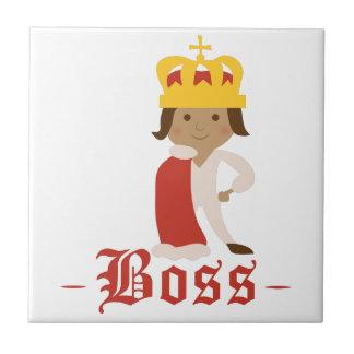 Boss Small Square Tile