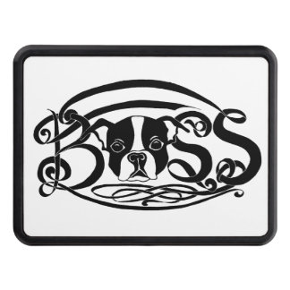 """""""BOSS""""-ton Terrier Hitch Cover"""