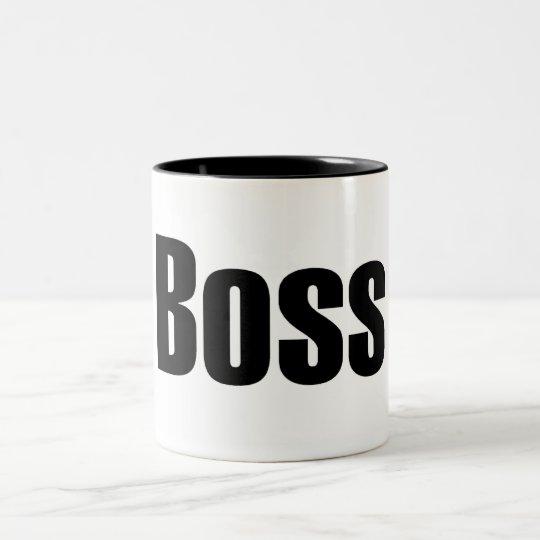 Boss Two-Tone Coffee Mug