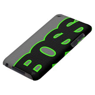 BOSS verde de neón Barely There iPod Cobertura