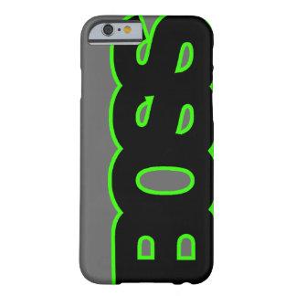 BOSS verde de neón Funda Barely There iPhone 6