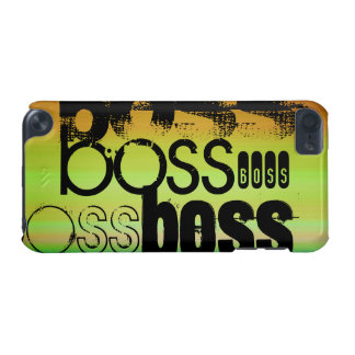 Boss; Vibrant Green, Orange, & Yellow iPod Touch (5th Generation) Cover