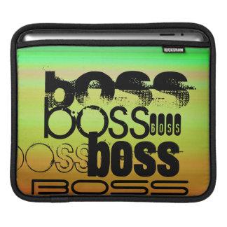 Boss; Vibrant Green, Orange, & Yellow Sleeves For iPads