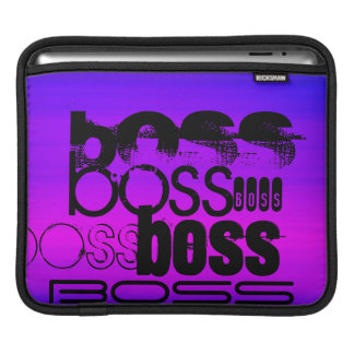 Boss; Vibrant Violet Blue and Magenta Sleeves For iPads