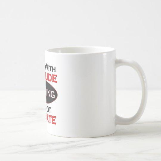 Boss With Attitude Coffee Mug
