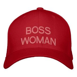BOSS WOMAN-Customizable Baseball Cap by eZaZZleMan