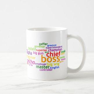 Boss Wordle Tazas