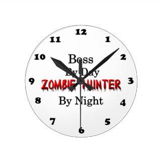 Boss/Zombie Hunter Round Clock