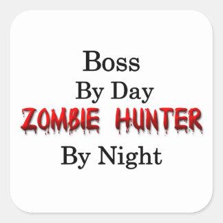 Boss/Zombie Hunter Square Sticker