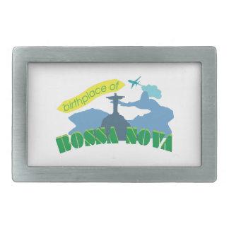 Bossa Nova Rectangular Belt Buckle