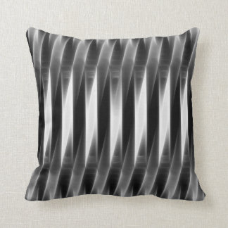 Bossa Nova Grey Glow Reversible Throw Pillow