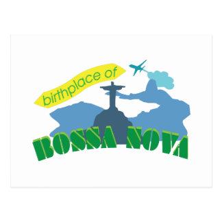 Bossa Nova Postcard