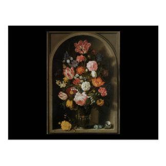 Bosschaert el más viejo pedazo de flor postal