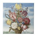 Bosschaert Flowers Ceramic Tile