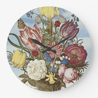 Bosschaert Flowers Clocks