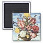 Bosschaert Flowers Fridge Magnet