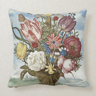 Bosschaert Flowers Pillows