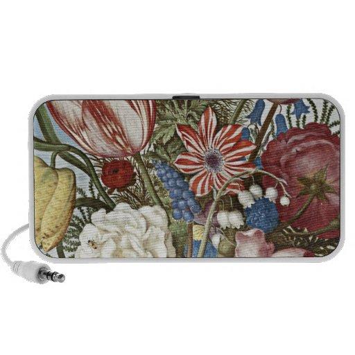 Bosschaert Flowers Portable Speaker