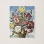 Bosschaert Flowers Puzzle
