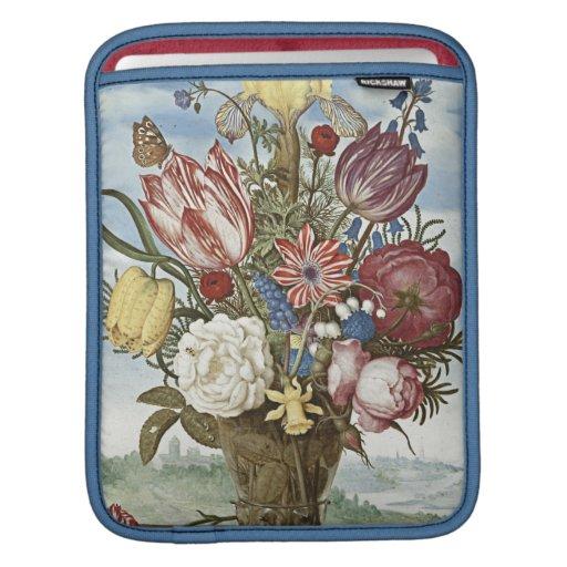 Bosschaert Flowers Sleeves For iPads