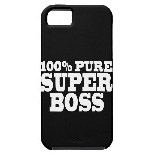 Bosses Birthday Parties : 100% Pure Super Boss iPhone 5 Case