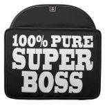 Bosses Birthday Parties : 100% Pure Super Boss MacBook Pro Sleeves