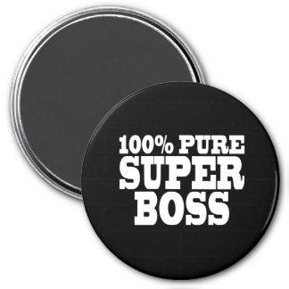 Bosses Birthday Parties : 100% Pure Super Boss Refrigerator Magnet