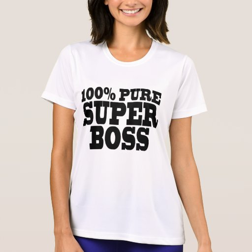 Bosses Birthday Parties : 100% Pure Super Boss Shirts