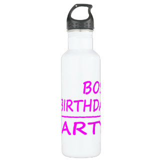 Bosses Birthdays : Boss + Birthday = Party Water Bottle
