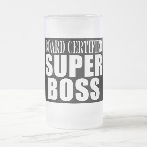 Bosses Office Parties : Board Certified Super Boss Coffee Mugs