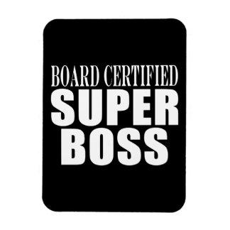 Bosses Office Parties : Board Certified Super Boss Flexible Magnet