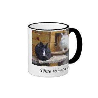 Bosses Ringer Coffee Mug