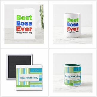 Boss's Day Cards and Gifts