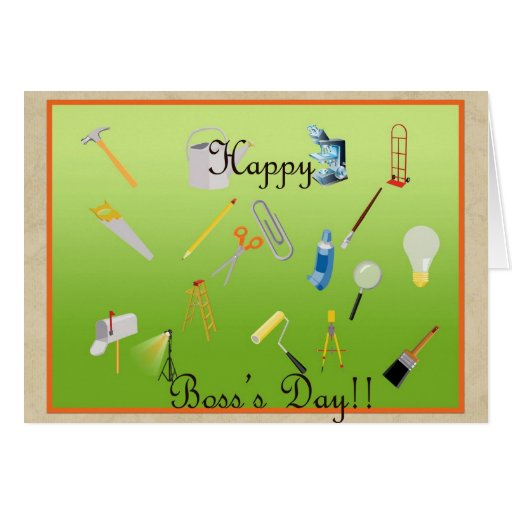 Boss's Day Greeting Card !