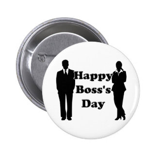 Boss's Day Pinback Button