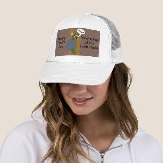 Boss's Day T-Rex Dinosaur (Female) Trucker Hat