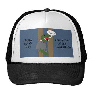 Boss's Day T-Rex Dinosaur (Male) Trucker Hat