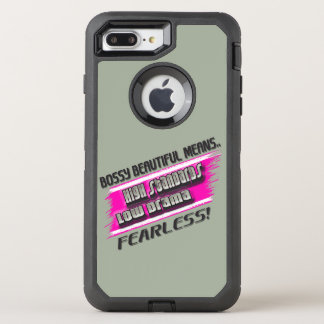 BOSSY BEAUTIFUL MEANS.....iPhone 6 Protector OtterBox Defender iPhone 7 Plus Case