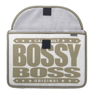 BOSSY BOSS - Persistence Leads to Ultimate Success Sleeve For MacBooks